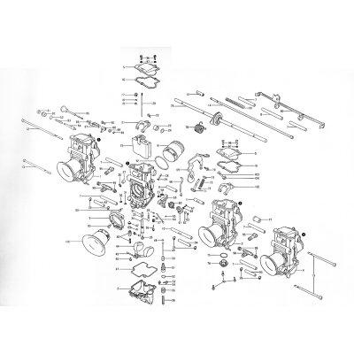 Mikuni ミクニ その他キャブレター関連 99.シール フューエルニップル TMRキャブレター ビッグボディΦ36-Φ41 スモールボディΦ28-Φ35