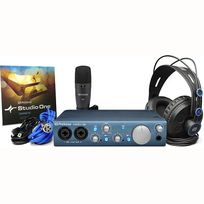 PreSonusMac/PC/iPad対応USB 2.0オーディオインターフェイス AudioBox iTwo STUDIO