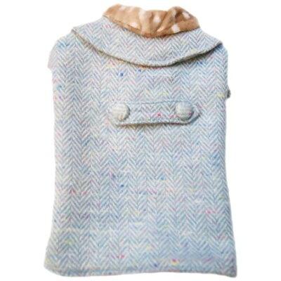 キャットプリン フィリップちゃんのお出掛け用 ロングコート ブルー(1枚入)