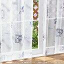 ドラえもん I'm Doraemon レースカーテン 2枚セット 100×198cm SB-508-S