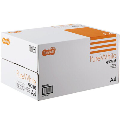 TANOSEE PPC用紙 Pure White A4 500枚×10冊/箱 PPCPW-A4