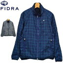 フィドラ FIDRA メンズ 3WAY ジャケット FD5GTY01 チェック&千鳥柄