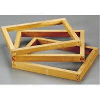 雅うるし工芸 カステラ木枠 朴材 4斤 2.2寸 WKS07422