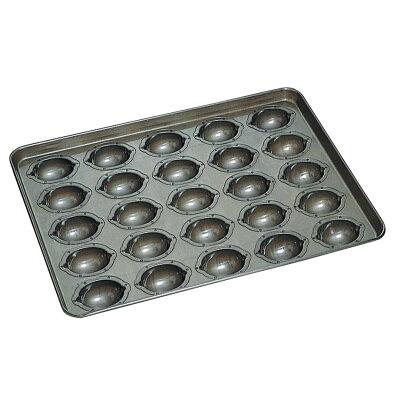 CHIYODA/千代田金属工業 シリコン加工 レモンケーキ型 天板 25ヶ取