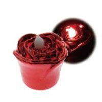 LED YuRa Rose レッド/レッド光