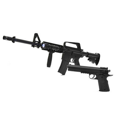 ベルソス エアガンキット M4モデル&コルトモデルセット VS-C-M4