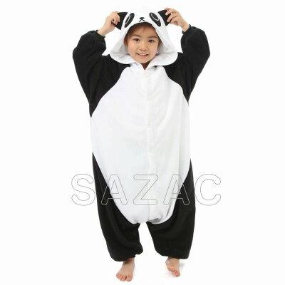 サザック SAZAC フリース 着ぐるみ パンダ 子供用 110cm 2639F