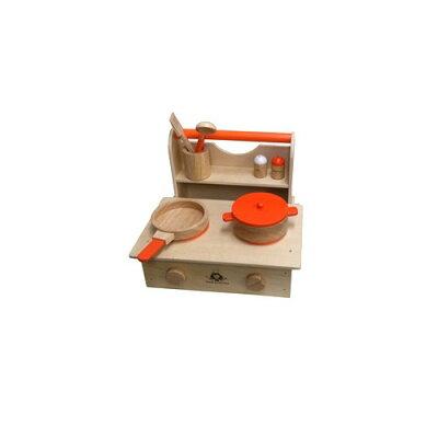 スイートリトルシェフ 木製キッチンセット ナチュラル(1セット)