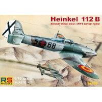 チェコ・RSモデル プラモデル 1/72 ハインケル 112B コンドル空軍 ホビーリンク・ジャパン
