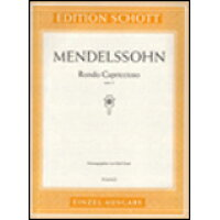 楽譜 メンデルスゾーン ロンド・カプリチョーソ 輸入楽譜 ピアノ ソロ