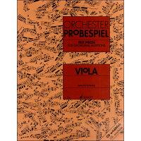 楽譜 オーケストラ・スタディ: ヴィオラ ED7242-01