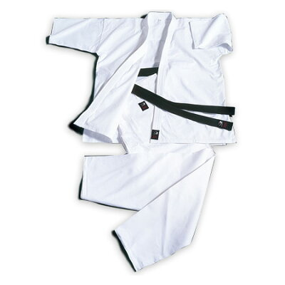 ボディメーカー BODYMAKER 純白フルコンタクト空手衣 0号 KW0