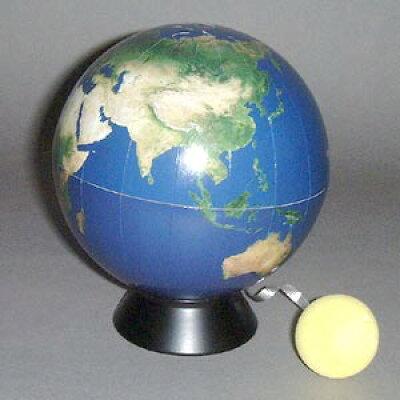 WATANABE 渡辺教具製作所 地球儀 ブルーテラ 環境地球儀 No.1303