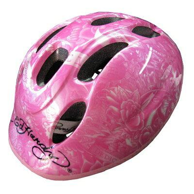 Ed Hardy エドハーディ ヘルメット Chipper Sサイズ ピンク