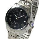 ジョン ハリソン J.harrison 4石天然ダイヤモンド付電波ソーラー腕時計 JH-086SB メンズ