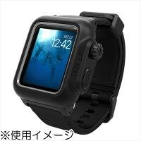 Catalyst カタリスト CT-WPAW1642-BK 完全防水ケース ブラック〔Apple Watch 42mm用〕