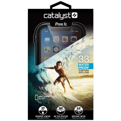 トリニティ iPhone 完全防水ケース  CT-WPIP18S-BK