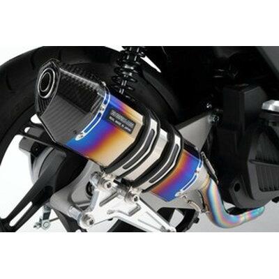 BEAMS ビームス フルエキゾーストマフラー CORSA-EVOII ヒートチタン マフラー PCX150
