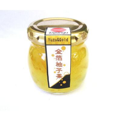 南アルプスファームフィールドトリップ 金箔柚子茶 110g