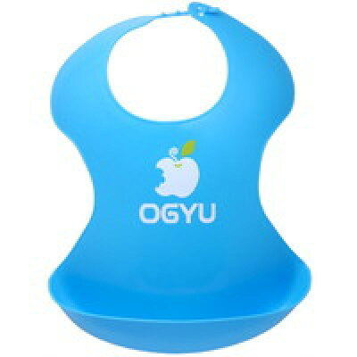 OGYU(オギュー) イージークリーンビブ ブルー(1枚入)