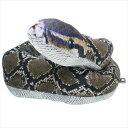 ニシキヘビ ぬいぐるみ ペンタブル ぬいぐるみ リアンキューラボ 全長120cm インテリア 面白グッズ
