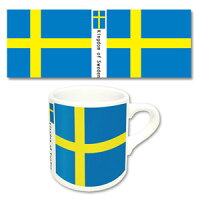 世界の国旗 マグカップN スウェーデン 再販 トイズ・プランニング
