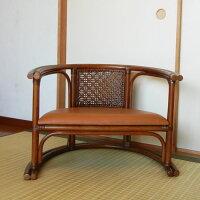 今枝ラタン 籐 楽座椅子