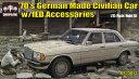 ダイオパーク 1/35 70年代のドイツ製セダン IEDアクセサリー付き プラモデル M.Sモデルズ