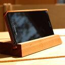 Hacoa Xperia Z2 docomo SO-03F 木製 スマートフォン スタンド チェリー H970-C