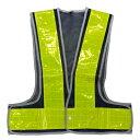 安全ベスト フリーサイズ 反射ベスト (ベスト:紺/反射帯:黄色)