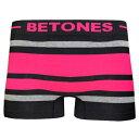 BETONES  キッズ ボクサーパンツ BREATH-BLACK-BB001K PINK