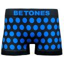 BETONES ビトーンズ BUBBLE5(バブル) TA005 水玉 ボクサーパンツ/メンズ フリーサイズ 1 BLUE