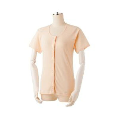 日伸 吸汗速乾プラホック式肌着 婦人用 M F-K-P1 ピンク