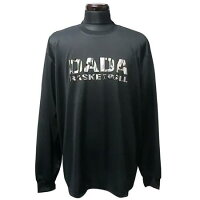 DADA DADA Big Logo Long Tee Blk/Camo MEN'S