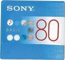 SONY ソニー 録音用ミニディスク MD BASIC 80分 単品×50枚 MDW80BC
