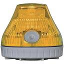 日惠製作所 NIKKEI ニコPOT VL08B型 LED回転灯 80パイ 黄 VL08B-003DY