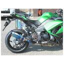 BEET JAPAN NASSERT Evolution Type II T-2 P パニアケース マフラー サイレンサー:ブルーチタン Ninja1000ABS