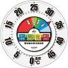 株 昭和商会 SHOWA 防雨型30cm温度計 N18-06