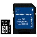 SUPER TALENT UHS-I Class10 対応 microSDHC/XCカード 32GB ST32MSU1P