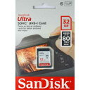 SDSDUNC-032G-GN6IN-T サンディスク SDHCメモリーカード 32GB Class10 UHS-I Ultra SDSDUNC032GGN6INT