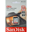 SDSDUNC-128G-GN6IN-T サンディスク SDXCメモリーカード 128GB Class10 UHS-I Ultra SDSDUNC128GGN6INT