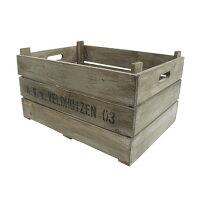 木箱 アンティーク ウッドボックス 1個 アンティーク 木箱