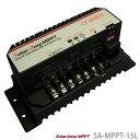 DENRYO 太陽電池充放電コントローラ Solar Amp MPPT SA-MPPT-15L 太陽光発電