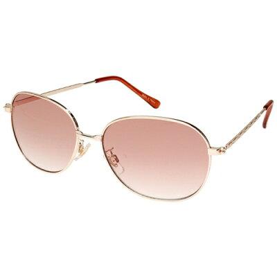 エニックス ファッション サングラス カラーレンズ メンズ ゴールド L603-2