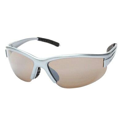 エニックス スポーツ サングラス カラーレンズ メンズ メタリック シルバー ALS-201-1