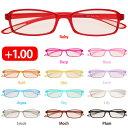 PCメガネ 機能付き リーディンググラス 度数+1.00 疲れ目対策に スィートアイ SE01Ruby +1.00 ブルーライト対策 青色光カット 紫外線対策 眼にやさしい 大人気 パソコン用メガネ シニアグラス 老眼鏡