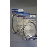 DIALOGARE ディアロガル クラッチケーブル カラー:ステンメッシュ サイズ:150mmロング SHADOW1100