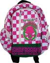 HOWDY DOODY'S グリボーチェック柄リュック S ピンク ツイル P80511-06