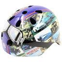 ジェフリーズ ヘルメット MORRIS 子供自転車用 軽量/マグネット式バックル仕様 Blue 50-54cm