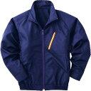 空調服 長袖ブルゾンタイプ(作業服) ワイドファン付き 2Lサイズ ネイビー P-500BNC03S4